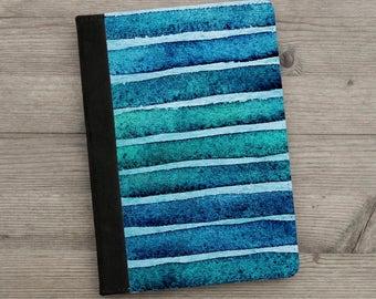 iPad - iPad Air - iPad Mini - Case - Aqua - Abstract Watercolour
