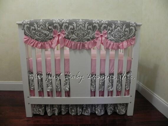 baby girl mini crib bedding girl mini crib baby bedding. Black Bedroom Furniture Sets. Home Design Ideas