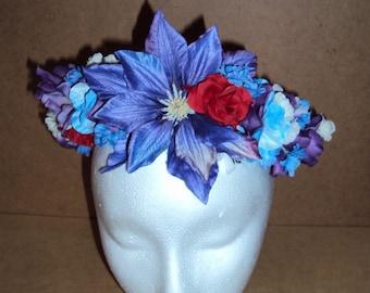 Floral Crown- Clematis