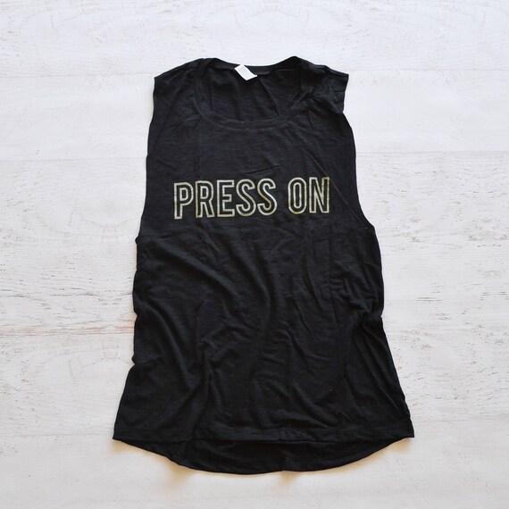 Press On Muscle Tank