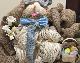Here Comes Peter Cottontail wreath