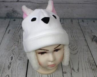 Adult Size Sheep Fleece Hat