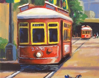 NEW ORLEANS STREETCAR Canal St