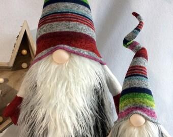 Scandinavian Jumbo size Gnome Nordic Nisse Woodland Swedish Tomte decoration