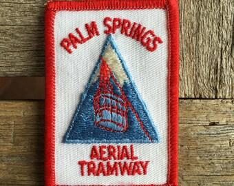 Palm Springs California Aerial Tramway Vintage Souvenir Travel Patch