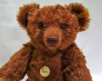 "Vintage Steiff, Steiff Classic Teddy Bear, 17"" Teddy Bear, Bear with Growler, Heirloom Bear"