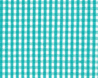 "HALF YARD 1/16"" Fabric Finders Seaside Gingham"
