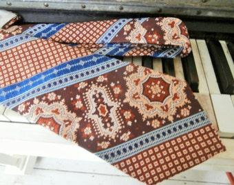 Vintage, 1970's, Grenada by Excello, Men's, Necktie, Made in Italy, Wide Tie
