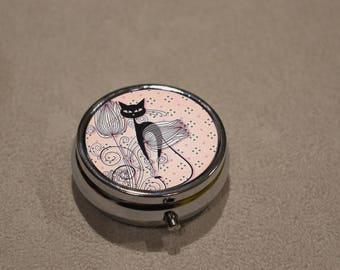 small box multi use, travel jewelry box, pill box