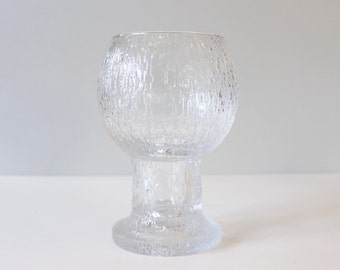 Large Iittala Finland Kekkerit Vase or Goblet Timo Sarpaneva Danish Modern Crystal