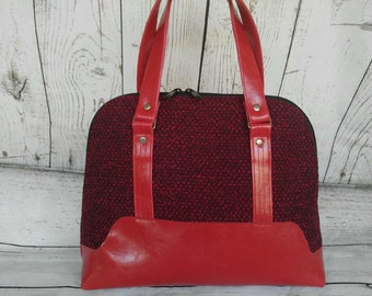 Red and Black Boronia Bag