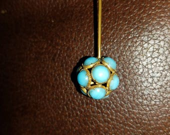 Vintage Turquoise Hat/Stick Pin