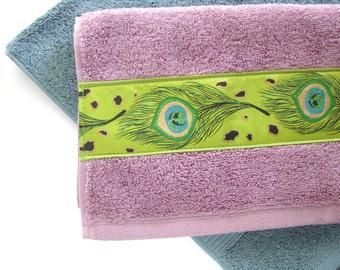 more colors peacock feather purple bathroom towels bath towels hand towels