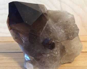 Smoky Quartz Crystal Cluster, Healing Crystals and Stones