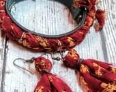 Boho Earrings - Gift for Mom - Bohemian Jewelry - Tassel Earrings - Girlfriend Gift