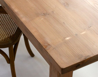 Rustic Farmhouse Desk, Reclaimed Wood Desk, Rustic Table // Solid Wood Table