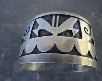 Hopi Animals Cuff Bracelet