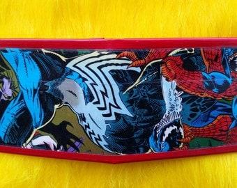Venom vs. Doppleganger Comic Book Duct Tape Wallet