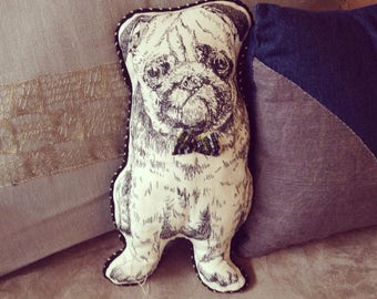 SALE!!! 20%OFF  Dog cushion chien coussin