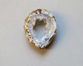 1pcs Natural Druzy Agate Geode Slices C4689