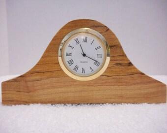 Spalted Maple Tambour Clock