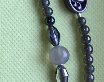 Necklace Shades of Gray