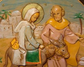 Fontanini Christmas Ornament / Journey To Bethlehem / Fontanini Despose Italy / Elio Simonetti / Christmas Ornament