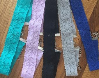 Lace choker - Lace choker necklace