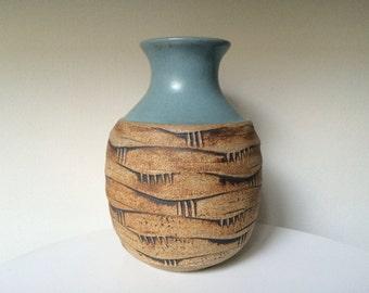 Frederick Carlton Ball Studio Pottery Bud Vase