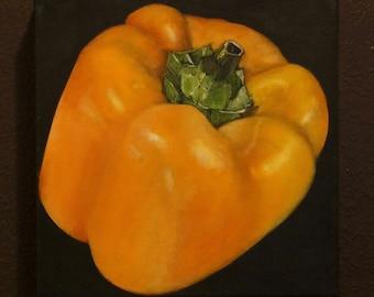 Original Painting Bell Pepper