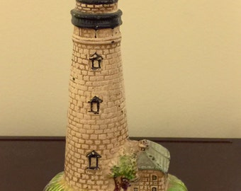 Vintage Inspired Cast Iron lighthouse Bank