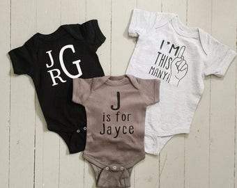 Cute/Customized Onesie for Baby // Baby Shower Gift // Unique Onesies