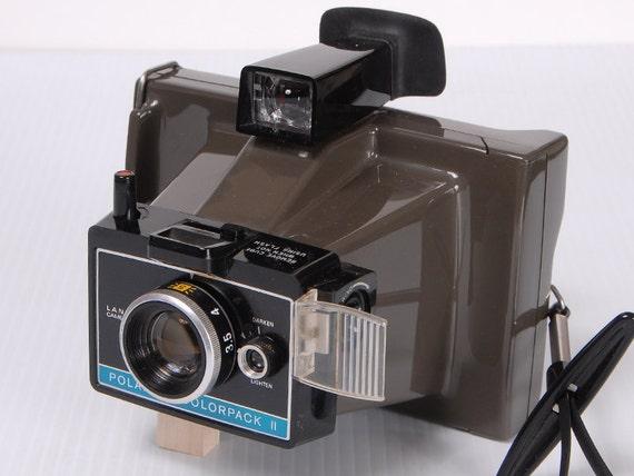 polaroid colorpack ii land camera from vintageklix on etsy studio. Black Bedroom Furniture Sets. Home Design Ideas