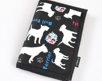 Wallet Bull Terrier Dog Accessories Psiakrew Chain Wallet