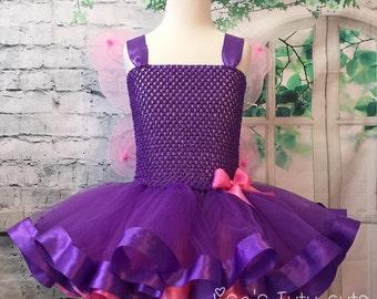 pink butterfly tutu, purple butterfly tutu, pink butterfly costume, purple butterfly costume, purple fairy tutu, purple fairy dress,