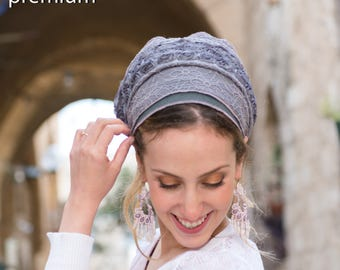 GORGEOUS Heather Tichel, SINAR Headscarf, Hair Snood, Head Scarf, Head Covering, Jewish Headcovering, Scarf, Bandana, Apron