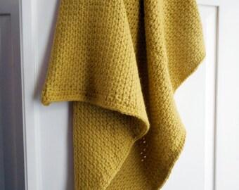 Crochetting blanket