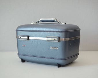 Vintage Train Case - American Tourister Luggage