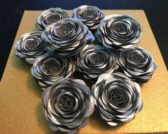 Silver Mini Roses