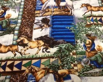 no. 725 Western & wildlife fabric by the yard