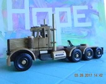 Wood Semi Truck #30