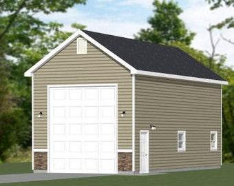 Items similar to 16x20 house w loft pdf floor plans for 32x40 garage plans