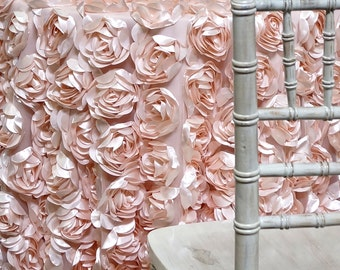 Peony Bouquet Tablecloth in Blush - Ideal for Weddings & Bridal Events