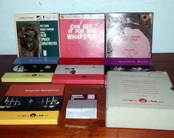 Pre Recorded Reel to Reel Tape Assortment 1