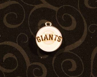 San Francisco Giants Snap Button charm - Qty-1