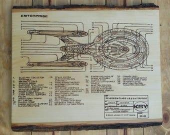 Enterprise E schematic