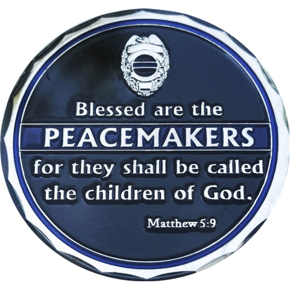 Blessed Are The Peacemakers St Michael Protect Us Police