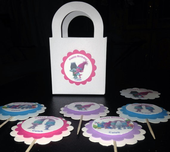Dreamwork Trolls Treat Bag Toppers