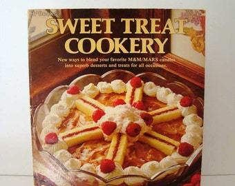 Sweet Treat Cookery, M&M/Mars Sweet Treat Cookery cookbook, candy cookbook, candy recipes, vintage cookbook