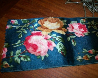 antique silk velvet ribbon roses trim textile supplies